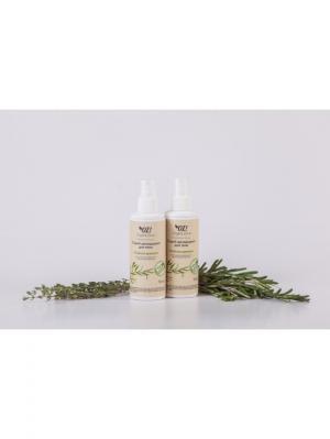 Дезодорант для тела с эфирными маслами Чайное дерево OrganicZone. Цвет: светло-желтый