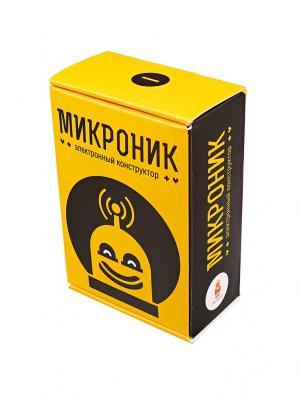 Микроник - конструктор для обучения электроники АМПЕРКА. Цвет: светло-оранжевый, белый
