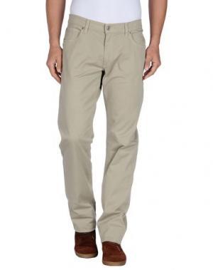 Повседневные брюки DANIELE ALESSANDRINI. Цвет: бежевый