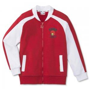 Детская олимпийка x PEANUTS Kids Track Jacket PUMA. Цвет: красный