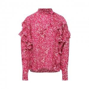 Шелковая блузка Isabel Marant. Цвет: розовый