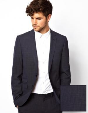 Пиджак с застежкой на 2 пуговицы Esprit. Цвет: пепельно-голубой