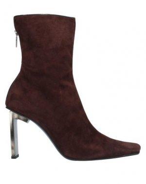 Полусапоги и высокие ботинки DIEGO DOLCINI. Цвет: темно-коричневый