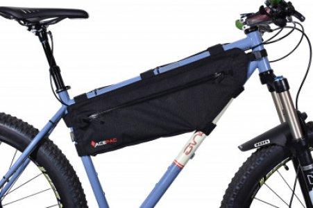 Сумка на велосипед Zip Frame Bag ACEPAC. Цвет: черный