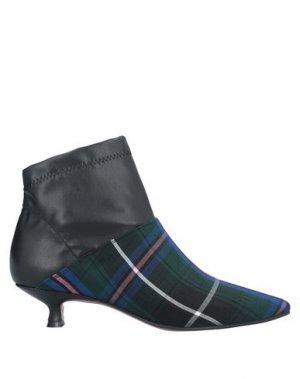Полусапоги и высокие ботинки ATTIC AND BARN. Цвет: темно-зеленый