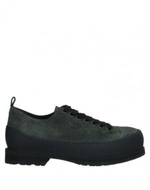 Обувь на шнурках ANN DEMEULEMEESTER. Цвет: темно-зеленый