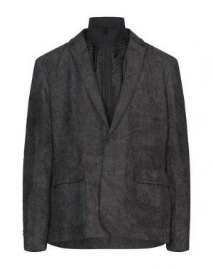 Пиджак GAUDÌ. Цвет: свинцово-серый