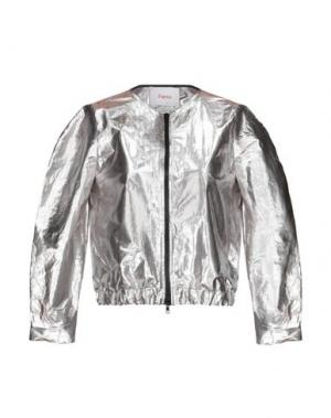 Куртка JUCCA. Цвет: серебристый