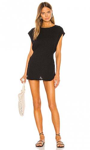 Мини платье swami vitamin A. Цвет: черный