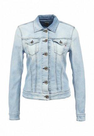 Куртка джинсовая Replay RE770EWBMN92. Цвет: голубой