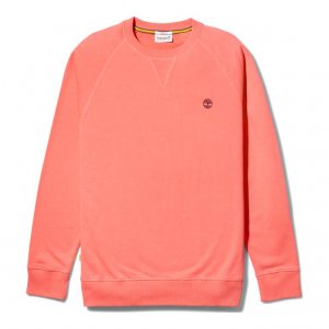 Толстовки LS Exeter River Basic Loopback Crew Sweatshirt Regular Timberland. Цвет: красный