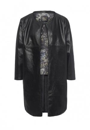 Куртка кожаная Blouson BL033EWQGN41. Цвет: черный