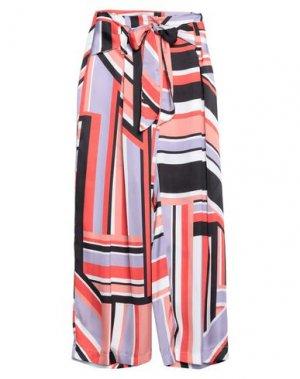 Повседневные брюки ANNARITA N. Цвет: красный