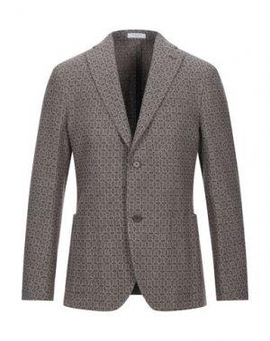 Пиджак BOGLIOLI. Цвет: темно-коричневый