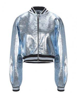 Куртка JIJIL. Цвет: небесно-голубой