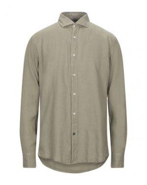 Pубашка AT.P.CO. Цвет: зеленый-милитари