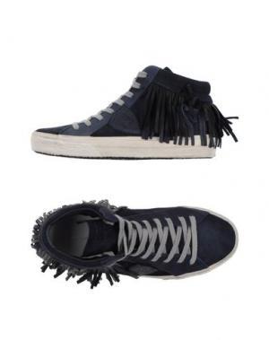 Высокие кеды и кроссовки PHILIPPE MODEL. Цвет: темно-синий