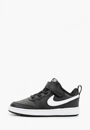 Кеды Nike COURT BOROUGH LOW 2 (TDV). Цвет: черный