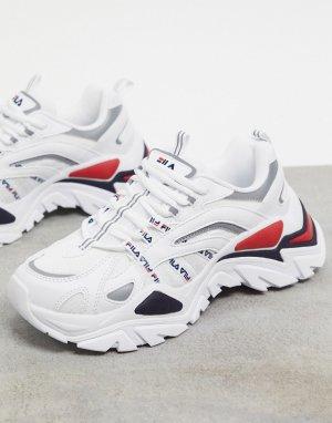 Белые кроссовки Korea Iteration-Белый Fila