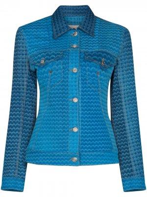 Джинсовая куртка Moonfish Marine Serre. Цвет: синий