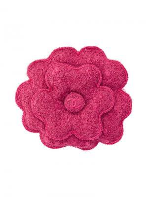 Шерстяная брошь Chanel Pre-Owned. Цвет: розовый