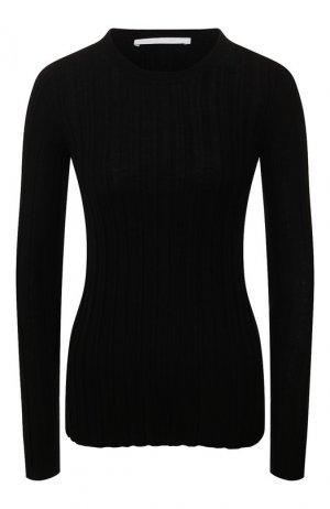 Шерстяной пуловер Helmut Lang. Цвет: черный