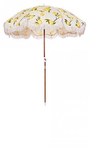 Зонт holiday business & pleasure co.. Цвет: желтый