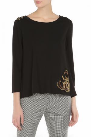 Блуза LE FATE. Цвет: черный