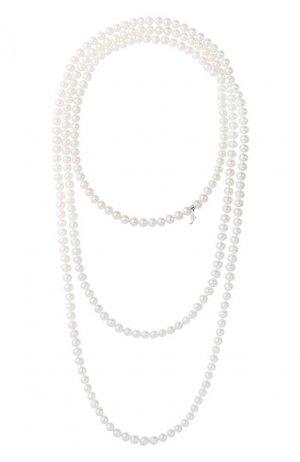 Ожерелье Mercury. Цвет: белое золото