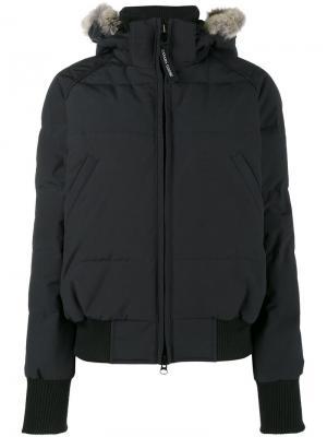 Куртка-бомбер Savona Canada Goose. Цвет: синий