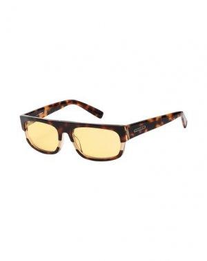 Солнечные очки DSQUARED2. Цвет: темно-коричневый