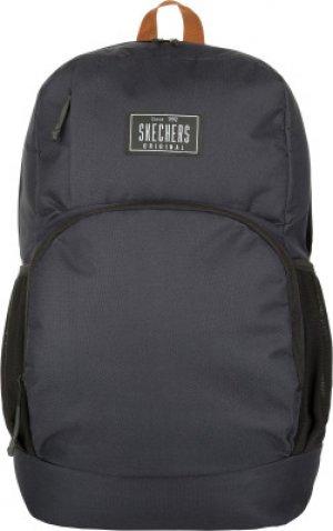 Рюкзак для мальчиков Skechers. Цвет: черный