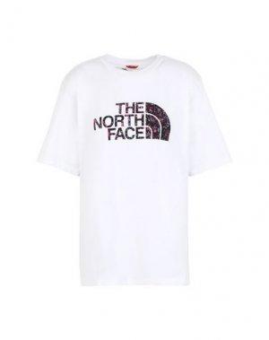 Футболка THE NORTH FACE. Цвет: белый