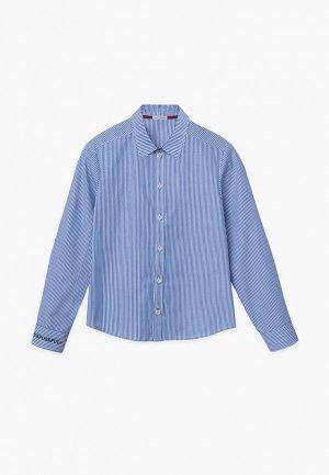 Рубашка Bell Bimbo. Цвет: синий