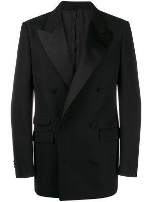 Двубортный пиджак-смокинг Stella McCartney