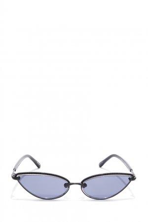 Солнцезащитные очки в черной оправе x Magda Butrym Linda Farrow. Цвет: черный