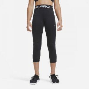 Капри для девочек школьного возраста Pro - Черный Nike