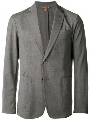 Костюмный пиджак Barena. Цвет: серый