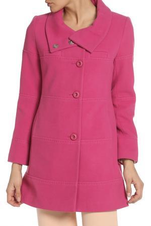 Пальто Exclusive. Цвет: фуксия
