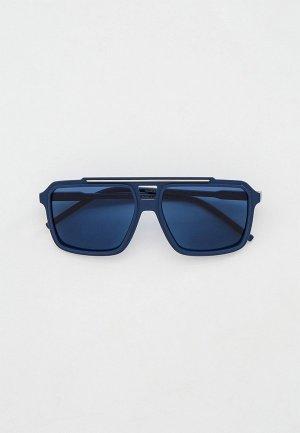 Очки солнцезащитные Dolce&Gabbana DG6147 329480. Цвет: синий