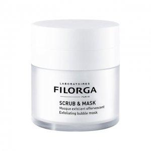 Отшелушивающая оксигенирирующая маска Scrub & Mask Filorga. Цвет: бесцветный