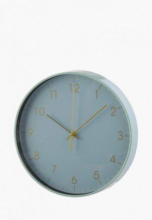 Часы настенные Decogallery. Цвет: бирюзовый