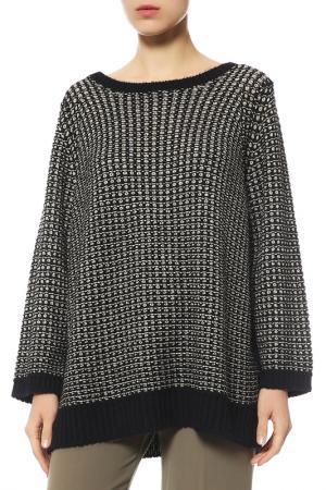 Пуловер Marina Rinaldi. Цвет: черный