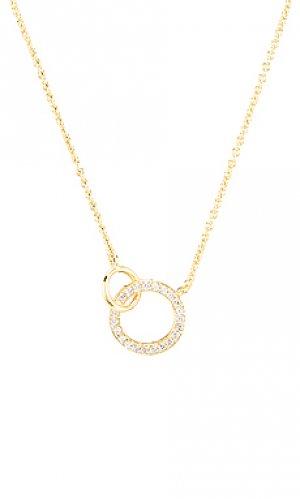 Ожерелье balboa gorjana. Цвет: металлический золотой