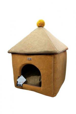 Лежак - домик для животных ANTEPRIMA. Цвет: желтый
