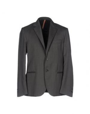 Пиджак LOW BRAND. Цвет: свинцово-серый