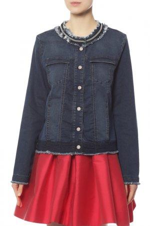 Куртка джинсовая Gerry Weber. Цвет: мультицвет