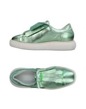 Низкие кеды и кроссовки MANUEL BARCELÓ. Цвет: светло-зеленый