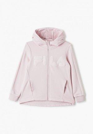 Толстовка Fila. Цвет: розовый
