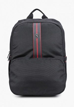 Рюкзак Ferrari для ноутбуков 15, Urban Backpack Black. Цвет: черный